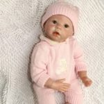 NPK Emulate Reborn Baby Doll Soft Sleep Helper Toy