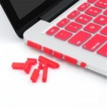 12PCS/SET Soft Silicone Anti Dust Plug for Macbook Air 13