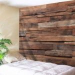 Retro Wood Plank Pattern Wall Decor Tapestry