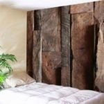 Vintage Wood Grain Wall Art Tapestry