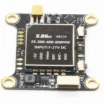 Micro 48CH 5.8G 25MW/100mW/200mW/400mW/600MW Switchable FPV RC Drone Transmitter Module with OSD SBUS Control