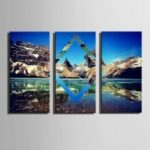 E – HOME Canvas Prints Landscape Hanging Wall Art 3PCS