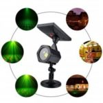 LED Outdoor Laser Projection Lamp Garden Decorative Solar Lawn Light