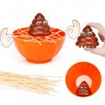 Funny Board Game Shit Down To Bowl of Noodles To Cheat Punishment Party Interactive Toys