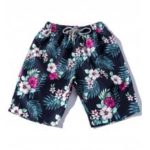 Colorful Florals Pattern Board Shorts