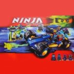 BELA Block Ninja – Thunder Swordsman Christmas Gift 387Pcs / Set 10396