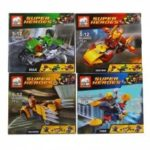 ELEPHANT JX60001 Building Block Super Heroes for Kids 8Pcs / Set