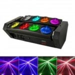 MITU SHOW Stage Lighting 8 LEDs Spider Beam Moving Head Light