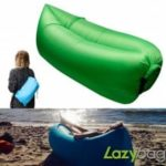 Inflatable Folding Sleeping Lazy Bag for Outdoor Camping   10 Seconds Quick Open