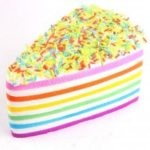Jumbo Squishy Squeeze Cake Sandwich PU Collection Gift Soft Toy