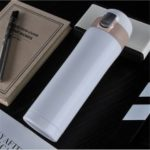 450ML Transhome Fashion Travel Bottle Water Vacuum Cup Thermos Stainless Steel Tumbler Thermocup
