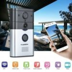 FLOUREON Home Smart WiFi Internet 720P HD Wireless Video Doorbell Intercom Camera Security Motion Alarm UK