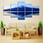 MailingArt FIV403  5 Panels Landscape Wall Art Painting Home Decor Canvas Print