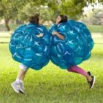 Inflatable PVC Bubble Zorb Ball Body Bumper Outdoor Game Funny Toy 60CM