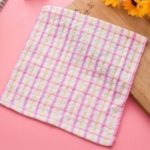 British Lattice Cotton Non-oil Absorbent Kitchen Rags