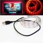 LED Strip Light 1.5M SMD 5630 60LEDS Tape TV Decoration with USB Cable