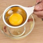 Kitchen Material Stainless Steel Egg Yolk Separator Used To Make Cake