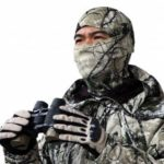 Bionic Camouflage Endured Outdoor Quick Dry Tactical Mask for Wind Protection