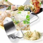 7CM Diameter Dumpling Cutter Stainless Steel Dumpling Skin Making Machine Pie Ravioli Mould Circle Device