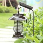 Pest Bug Light Solar Mosquito Killer LED For Outdoors Yard Mosquito Lamp