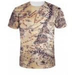 Map Print Short Sleeve Tee