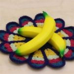 High Simulation 19CM Big Banana Jumbo Squishy Hanger Slow Rebound PU Toy 1PC