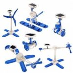 Creative 6 in 1 DIY Solar Toy Educational Kid Gift