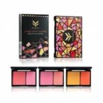 HUAMIANLI Double Color Matte Face Blush Powder Makeup Palette Cosmetic Kit