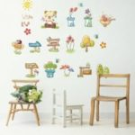 Creative Cartoon Wall Sticker 1pc
