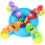 Crazy Frog  Eat Beans for the Ball with Bead Feeding Children Board Game