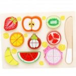 Children'S Fruit Jigsaw Puzzle of Wooden Toys