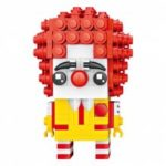 LOZ Cute Uncle with Red Hair Mini Blocks Toy