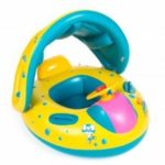 Inflatable Swimming Ring for Children with Horns