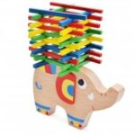 Colourful Stick Balance Wooden Toy Children Start Puzzle Game