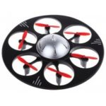 Udi U845 2.4G 4CH 6-Axis Gyro Flying Saucer   RTF RC Hexacopter Toy with 2MP Camera