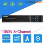 FLOUREON 5 IN 1 TVI 8CH AHD 1080N HDMI H.264 CCTV Security Video RecorderDVR NVR EU
