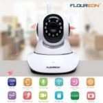 FLOUREON 720P Wifi 1.0 Megapixel Wireless ONVIF CCTV Security IP Camera EU