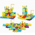 Funny Electric Spinning Gear Building Blocks Set Toys
