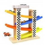 Ramp Race Track with 4 Mini Racers