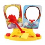 Creative Double Person Cake Cream Pie in the Face Anti Stress Interactive Toy