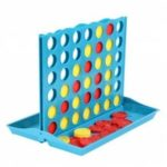 Stereo Connect Four Quadruple Chess Board Game Five Children Educational Toys