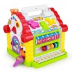 Colorful Baby Fun House Electronic Geometric Block with Music