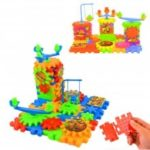 Funny Electric Spinning Gear Building Blocks Set Toy