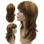 Long Full Bang Straight Colormix Synthetic Wig