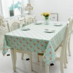 Modern Simple Lovely Cotton Fresh Printed Tablecloth