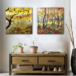 Special Design Frameless Paintings Jungle Print 2PCS