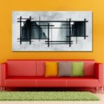 MY43-CX – 122 Fashion Abstract Print Art