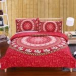 Elephant Bedding 3pcs Duvet Cover Set  Digital Print
