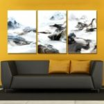 MY43-XDZS – 92-93-94 3PCS Abstract Scenery of Fashion Print Art