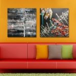 MY43-CX – 269-273 Fashion Abstract Print Art Ready to Hang Paintings 2PCS